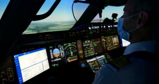 As Air France restores some flights, pilots queue for simulator