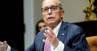 White House's Kudlow floats cutting U.S. corporate tax rate in half