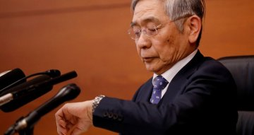 BOJ's Kuroda flags more easing if virus impact worsens: Sankei