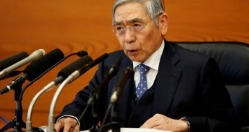 Kuroda says BOJ will be 'fully prepared' to act on virus risk