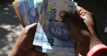 South Africa's rand firms as new U.S. stimulus hopes boost risk appetite