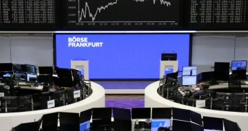 European shares retreat from record highs as Wall St dips, currencies surge