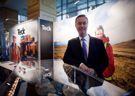 President and CEO Donald R. Lindsay of Teck Resources Ltd. is pictured after the company's AGM in Vancouver