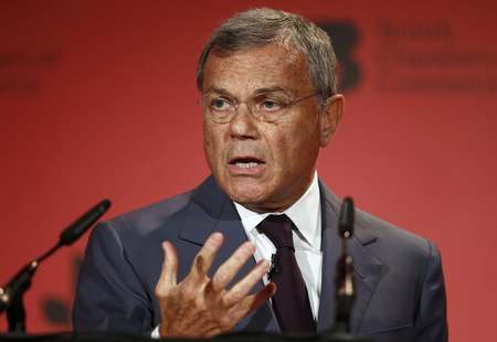 File photo of WPP founder and CEO Martin Sorrell speaking at the British chambers of Commerce annual conference in London