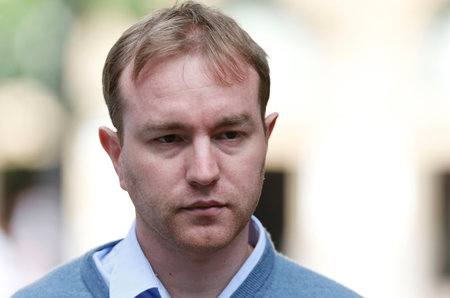buFormer trader Tom Hayes arrives at Southwark Crown Court in London