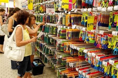 Baisse de 0,1% des prix en grande distribution — France