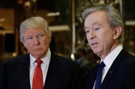 Opération séduction de Bernard Arnault auprès de Donald Trump
