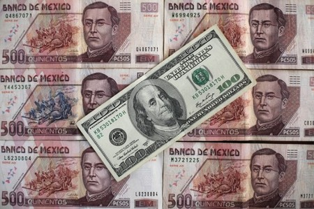 What if you want to send a fixed amount in pesos? Sometimes you might want to fix the amount that you are sending in pesos. This means for example sending an exact amount of 20, pesos.