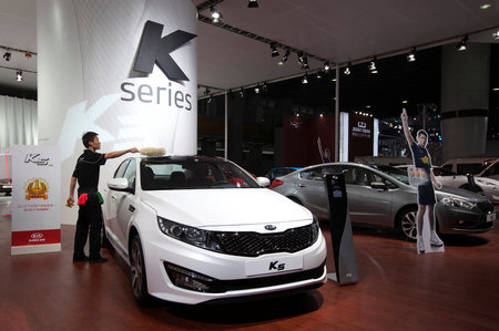 Kia motors south korean automakers cut china production for Kia motors south korea