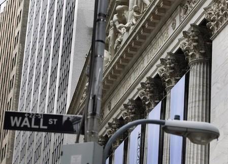 Reste dans le rouge — Wall Street