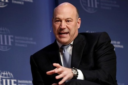 National Economic Council Director Gary Cohn speaks at 2017 Institute of International Finance (IIF) policy summit in Washington