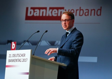 German Bundesbank President Jens Weidmann attends the German Banking Congress in Berlin