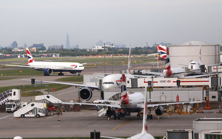 Légères perturbations à l'aéroport d'Heathrow — British Airways