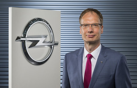 New appointed Opel Germany CEO Michael Lohscheller