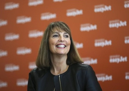 EasyJet CEO McCall attends a news conference during the inauguration ceremony of the company's new base at Venice airport