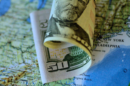 FILE PHOTO: Illustration photo of a U.S. Dollar note