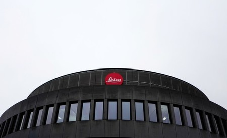 The headquarters of German camera manufacturer Leica are photographed in Wetzlar