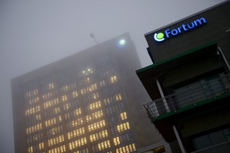 FILE PHOTO: The headquarters of Fortum, the largest electricity distribution operator in the Nordic region, is seen in Espoo