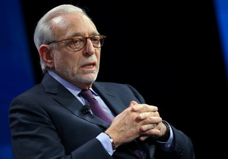Nelson Peltz founding partner of Trian Fund Management LP. speak at the WSJD Live conference in Laguna Beach, California