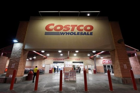 FILE PHOTO: A Costco Wholesale retail club is photographed in Austin, Texas, U.S.