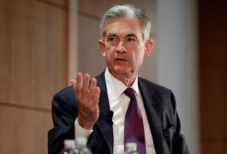 Commodity Futures Trading Commission (CFTC) Chairman Christopher Giancarlo and Federal Reserve Board Governor Jerome Powell discuss financial regulation in Washington