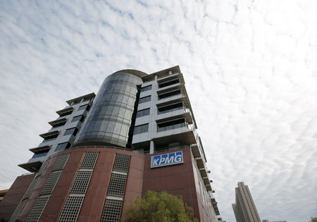 FILE PHOTO: The offices of auditors KMPG are seen in Cape Town