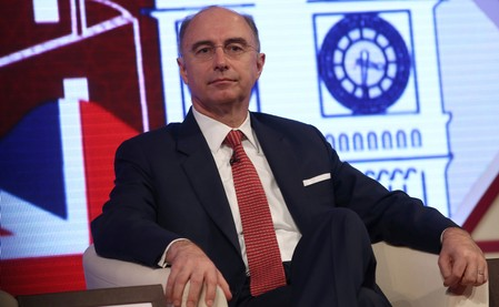 FILE PHOTO: CEO of the London Stock Exchange Xavier Rolet speaks at the Qatar UK Business and Investment Forum in London