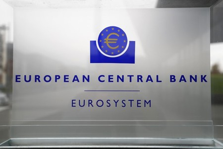 European Central Bank announces interest rate decision in Frankfurt