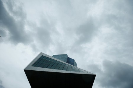 FILE PHOTO -  ECB headquarters building is seen in Frankfurt