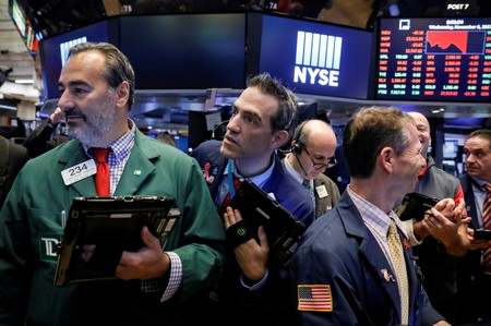 LA BOURSE DE NEW YORK FINIT EN BAISSE
