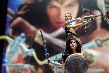 FILE PHOTO: Mattel's Wonder Woman doll is seen at the 114th North American International Toy Fair in New York City