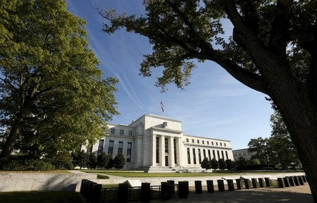 FILE PHOTO: The  Federal Reserve building in Washington