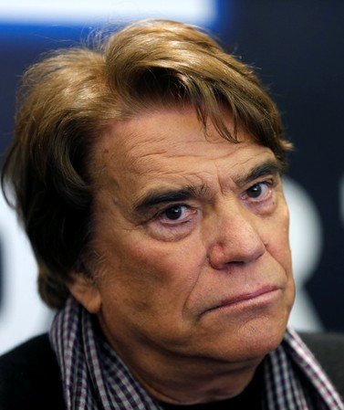 FILE PHOTO: French businessman Tapie attends a news conference for the launching of his web TV at the headquarters of daily newspaper 'La Provence' in Marseille