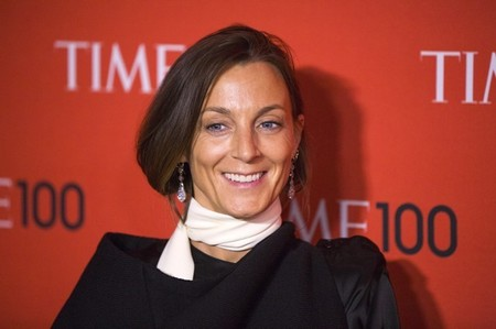 FILE PHOTO - Former honoree and creative director of CELINE, Phoebe Philo, arrives at Time 100 gala celebrating magazine's naming of  100 most influential people in the world for the past year in New York