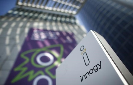 Innogy logo in Essen, Germany