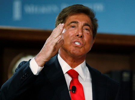 FILE PHOTO: Wynn speaks at the 2009 Milken Institute Global Conference in Beverly Hills