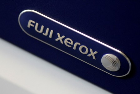 FILE PHOTO: Illustration photo of the Fuji Xerox logo