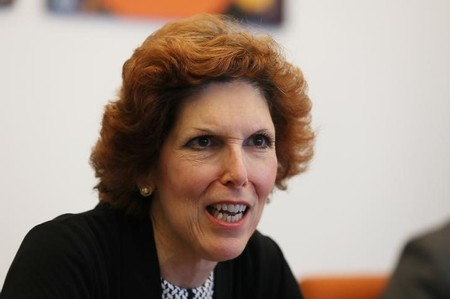 Loretta Mester, president of the Federal Reserve Bank of Cleveland, speaks during an interview in Manhattan, New York