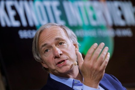 Bridgewater Associates' Dalio speaks at the 2017 Forbes Under 30 Summit in Boston