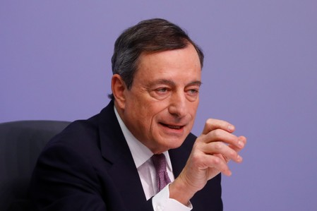 European Central Bank news conference in Frankfurt
