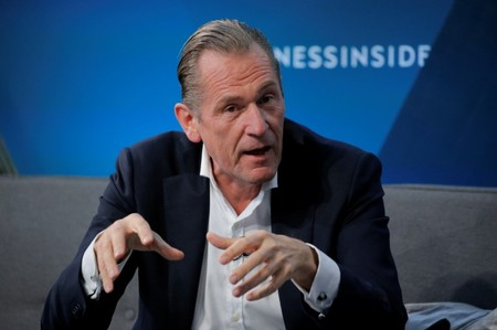 Mathias Dopfner, CEO of Axel Springer SE, speaks at the 2017 Business Insider Ignition: Future of Media conference in New York