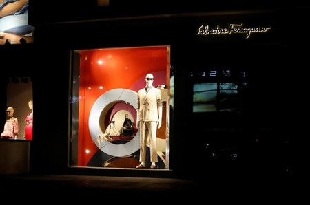 FILE PHOTO - Salvatore Ferragamo shop is seen in Mexico City's swanky Polanco
