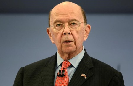 FILE PHOTO - U.S. Commerce Secretary Wilbur Ross, speaks at the Conferederation of British Industry's annual conference in London