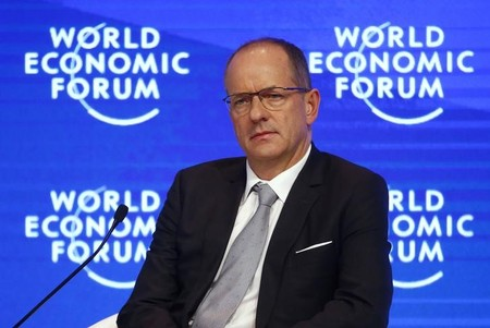 Sir Andrew Witty attends the WEF annual meeting in Davos