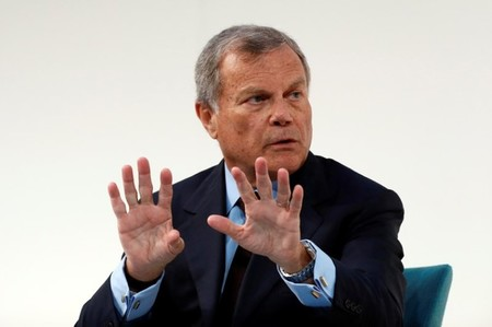 FILE PHOTO: Martin Sorrell, chairman and chief executive officer of WPP, the world's largest advertising company, speaks at the Confederation of British Industry's (CBI) annual conference in London