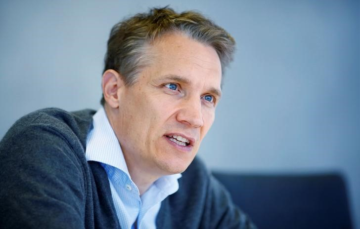 Rocket Internet CEO Oliver Samwer attends an interview with Reuters in Berlin