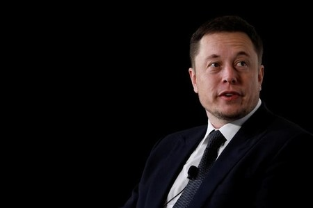 Elon Musk, founder, CEO and lead designer at SpaceX and co-founder of Tesla, speaks at the International Space Station Research and Development Conference in Washington