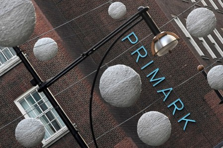 FILE PHOTO: The exterior of a Primark store is seen in central London, Britain