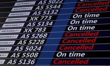 Une partie des vols ne sera pas assurée — Air France