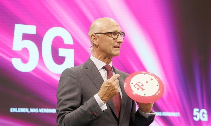 unHoettges, CEO of Germany's Deutsche Telekom AG, attends the company's annual shareholder meeting in Cologne